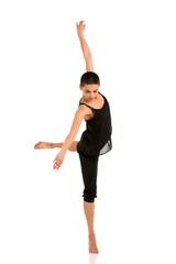 female ballerina dancer