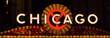 canvas print picture - Chicago Sign Landscape