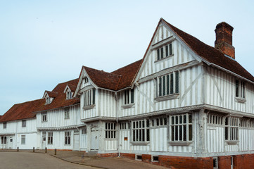 Guildhall at Lavenham, Suffolk, UK