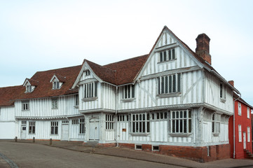 Lavenham Guildhall, Suffolk, UK