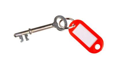 Key with key ring