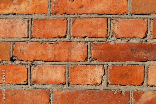 canvas print picture Brick vall