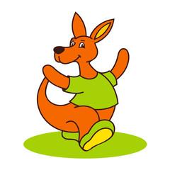 carefree kangaroo logo