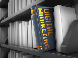 Digital Marketing - Title of Book.