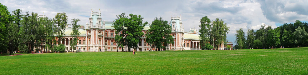 Panorama: Palace of the Russian Empress Catherine II in Moscow