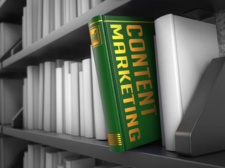 Content Marketing - Title of Book.