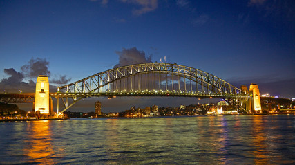 Sunset at Sydney Harbour Bridge