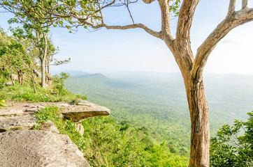 Hum - Hod Cliff, Chaiyaphum, Thailand