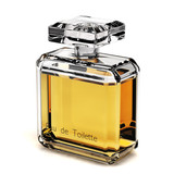 Perfume glass bottle - Eau de toilette