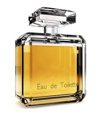 Perfume glass bottle - Eau de toilette