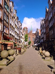 picturesque Gdansk