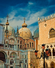 Doge's Palace on San Marco square in Venice, Italy