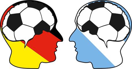 Fußball – Kopf
