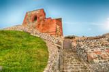 Medieval Upper Castle in Vilnius, capital city of Lithuania