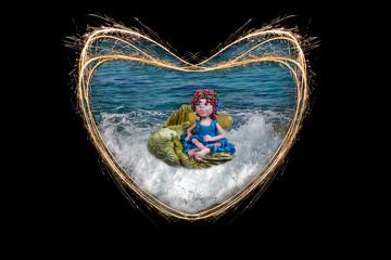 Sea fairy.