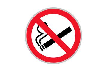 Verbotszeichen: Rauchen verboten