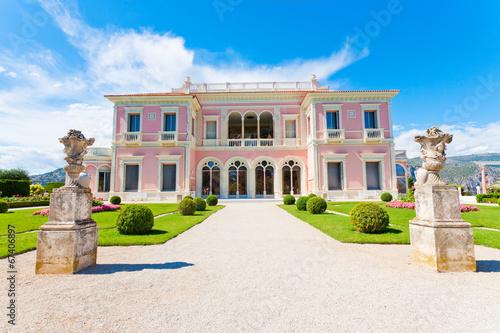 Garden in Villa Ephrussi de Rothschild, Saint-Jean-Cap-Ferrat - 67406897