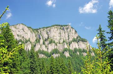 Rocky mountain slide