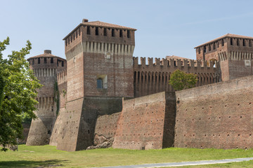 Castle view from south east, Soncino