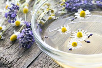 Kamillen-Lavendel-Aufguss