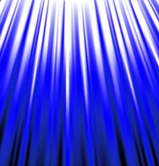 background of blue luminous rays.
