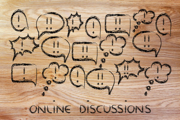 internet forums and online discussions