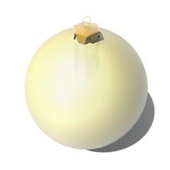 Gouden kerst bal