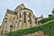 France, the picturesque church of  Vaux sur Seine