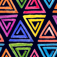 Abstract seamless watercolor pattern 2