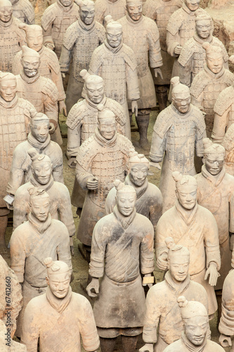 Staande foto Xian Terracotta Warrior