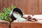 Sea salt with coniferous aroma
