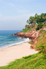 Cliffs at Varkala beach