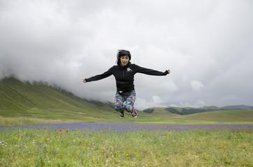 Saltare di gioia
