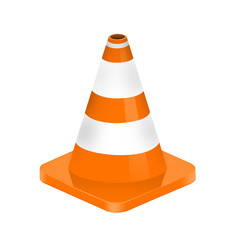 illustration of traffic cone