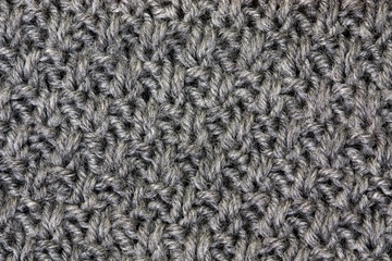 gray knitting
