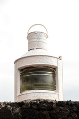 Old Vintage Kerosene Lantern Light