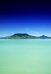 Lake Balaton in summer time, Hungary