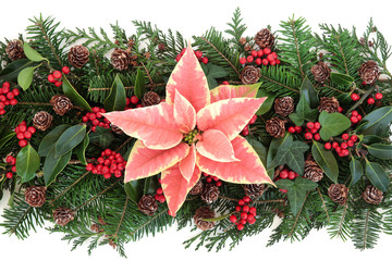 Winter Floral Decoration