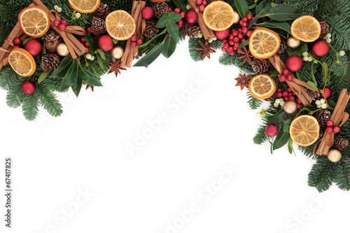 canvas print picture Festive Fruit and Spice
