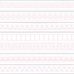 Hand drawn seamless background9
