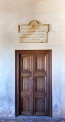 Washington Irving Plaque Alhambra Granada Andalusia Spain
