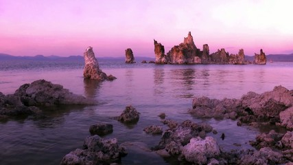 Mono Lake, Abend, evening, USA