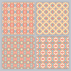 four simple abstract patterns - 2