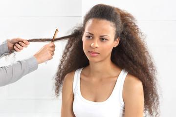 Rozczesywanie włosów