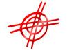 rotes Kreuz im Kreis...