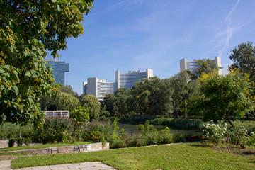 Donaupark Wien mit Unocity