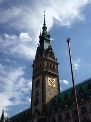 Rathausturm Hamburg