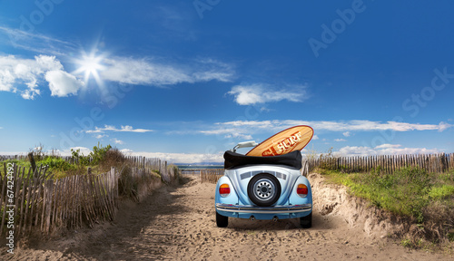 canvas print picture On the Beach