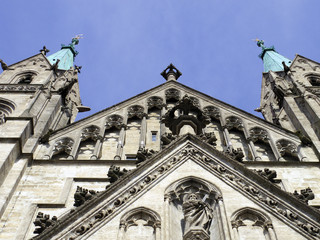 st Paul church in Munich, Germany