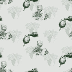 grape wine pattern
